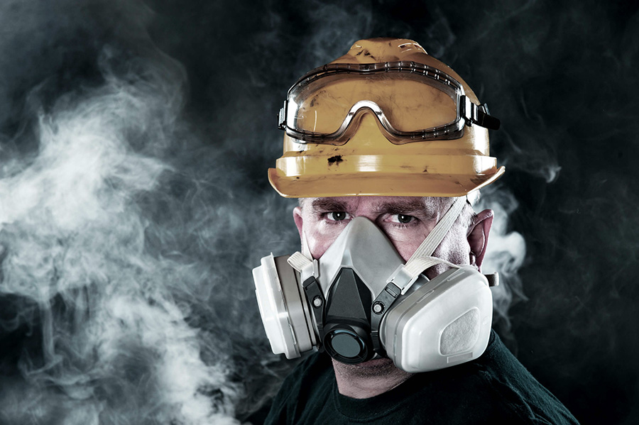 Respirator safety tips