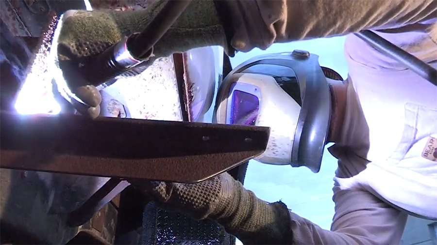 welding in action welding glvoes