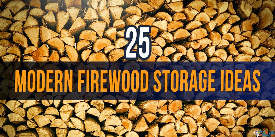 Charmant 25 Modern Firewood Storage Ideas