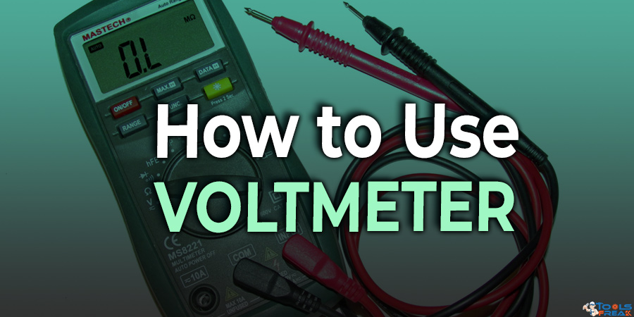 How to use a voltmeter