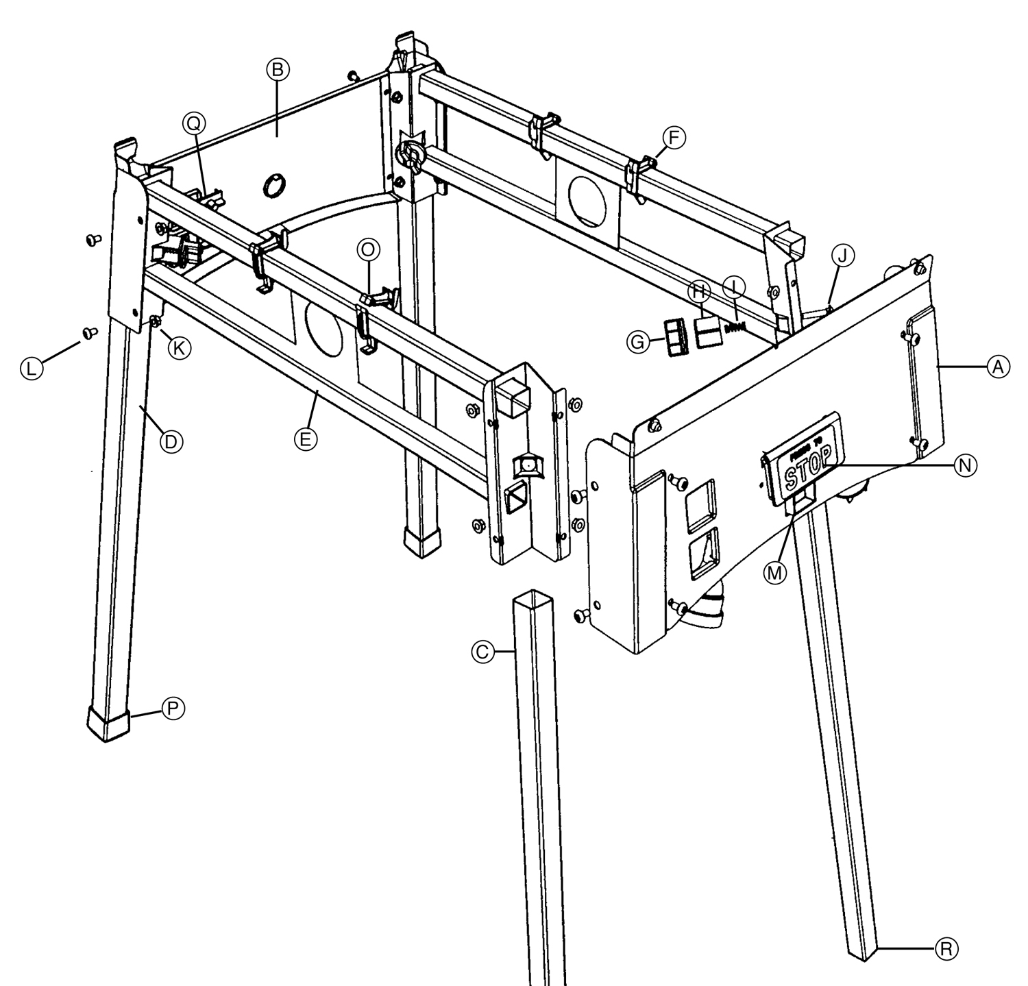 Tool Spares Online Router Stand