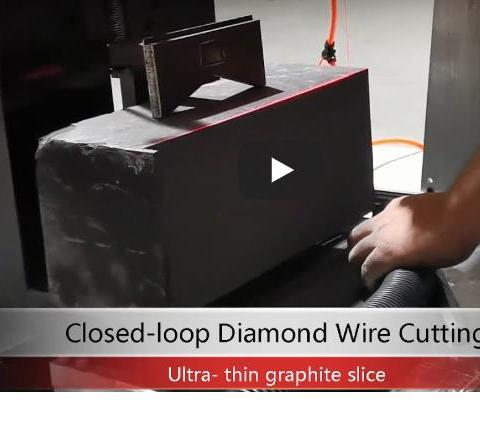 continuous diamond wire cutting