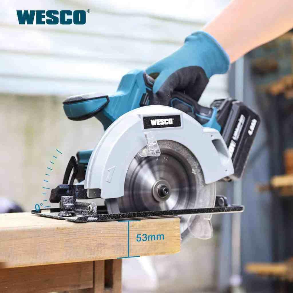 Wesco Cordless Circular Saw Gallery Image 1