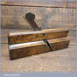 Antique 18th century S. King of Hull 1744-1806 Common Ogee Beechwood Moulding Plane