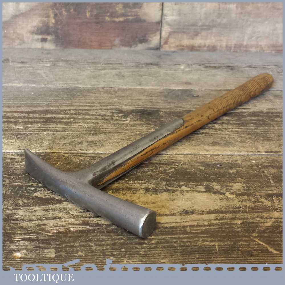Vintage Buck Strapped Upholsterers Leather Working Tack Hammer