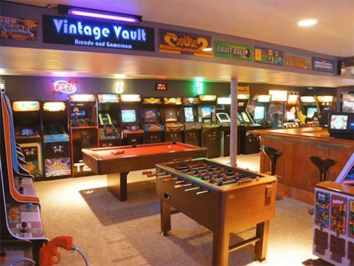 After all, the area will be used for playing games. 5 Basement Game Room Ideas April 2021 - Toolversed