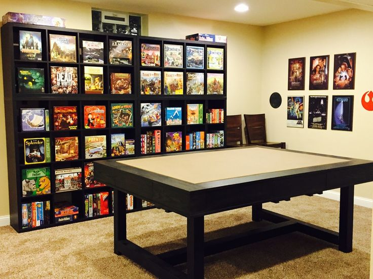Family Game Room Ideas