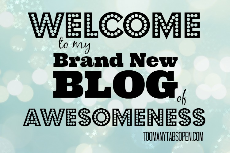 Welcome to my new blog!