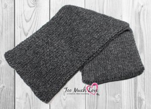 How To Knit A Rib Knit Scarf With A Clean Edge Too Much Love