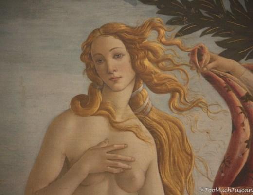 The Birth of Venus by Botticelli - Uffizi Gallery