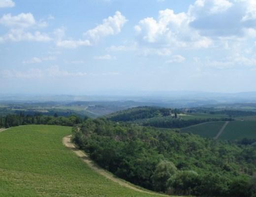 Montespertoli surroundings