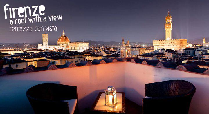 Panoramic Views Of Florence Roof With View In Firenze Toomuchtuscany