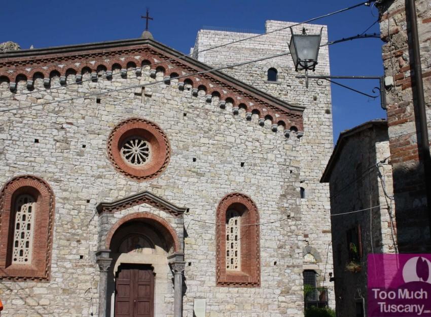 Church of San Bartolomeo a Vertine