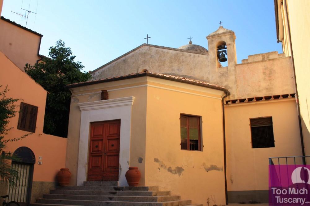 Church in Porto Azzurro