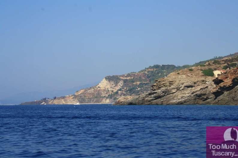 Elba from the sea