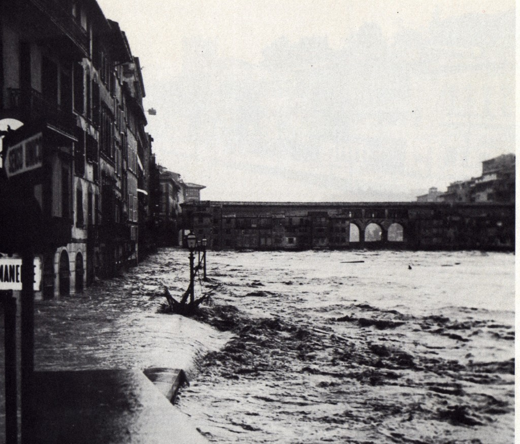 Ponte Vecchio during the Flood