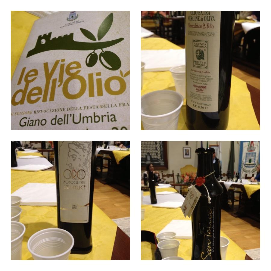 Giano oil tastings