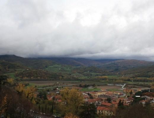 View from Bibbiena