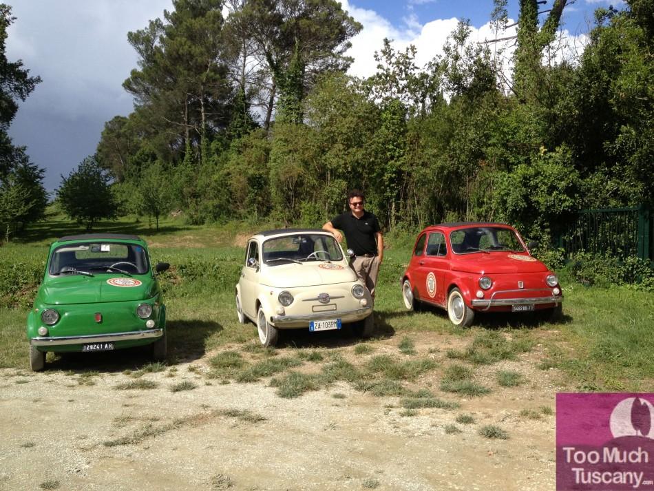 Giuseppe & 500 Fiat cars