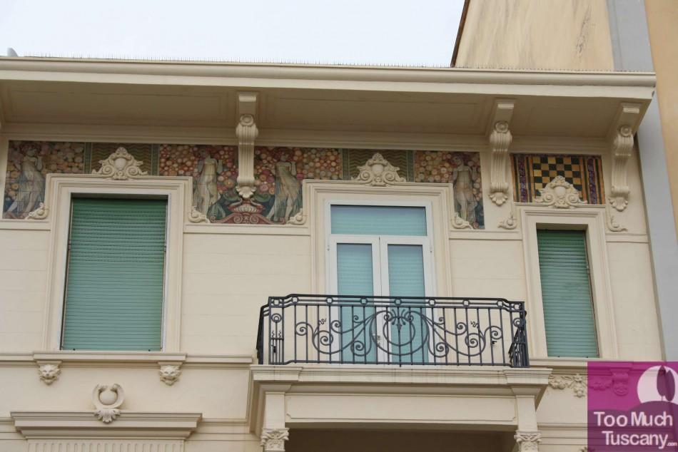 Viareggio, Liberty-style