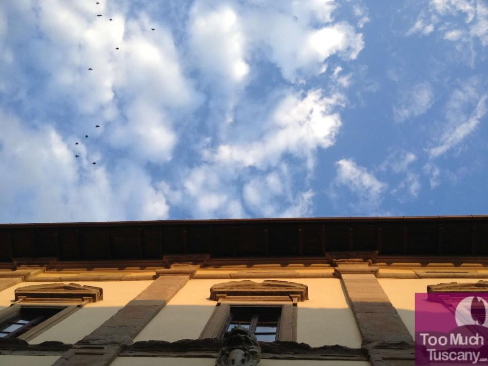 Sky over San Sepolcro