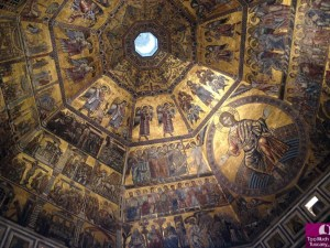 Mosaic ceiling - Baptistery of Saint John