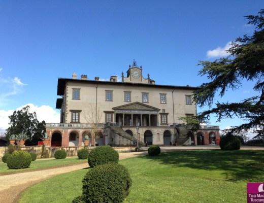 Villa of Poggio a Caiano