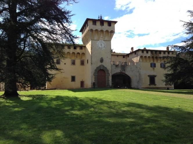 Cafaggiolo Castle in Mugello