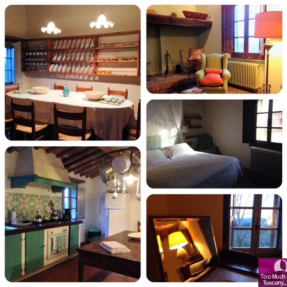 The Tuscany style apartments at Borgo Lucignanello