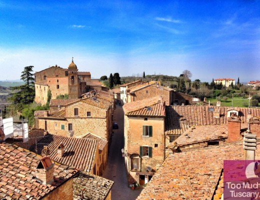 Over the roofs of Montisi