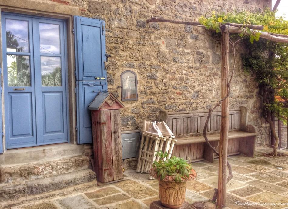 Lovely corner in La Verna