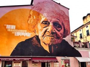 Graffiti art in Carrara