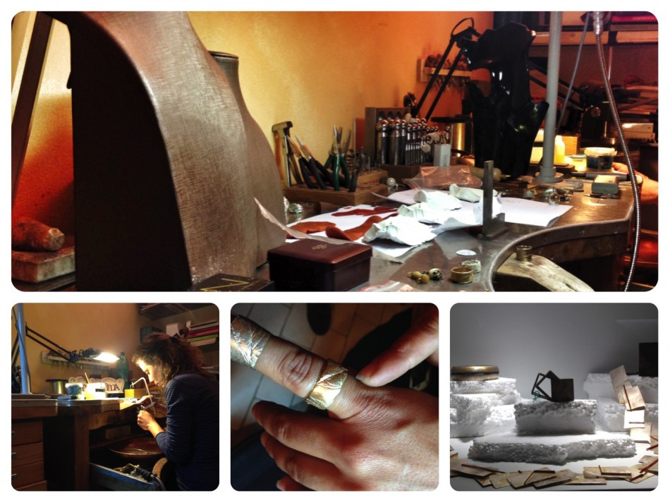 Goldsmith workshop in Oltrarno