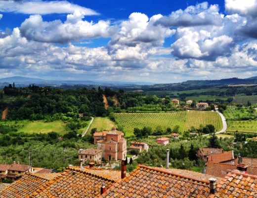 View from Chianciano Terme
