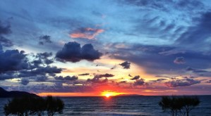 Biodola Beach - The perfect sunset