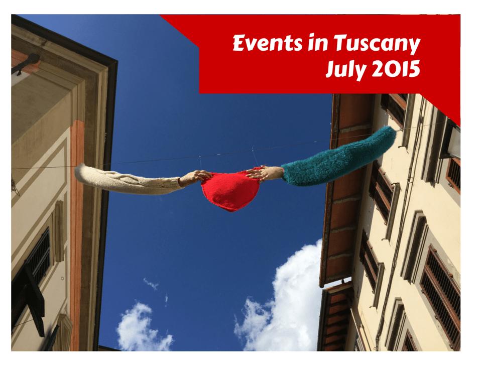 Tuscany July Events