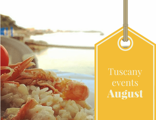 August events in Tuscany 2015