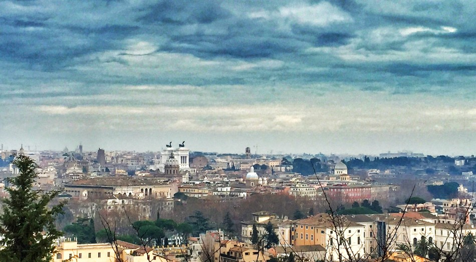 Rome skyline from Gianicolo