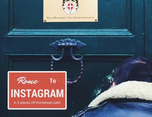 Rome for Instagramer