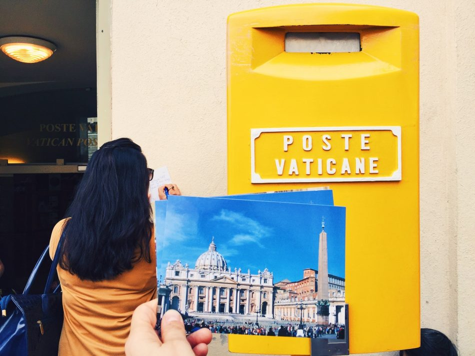 Postcard from Vatican city