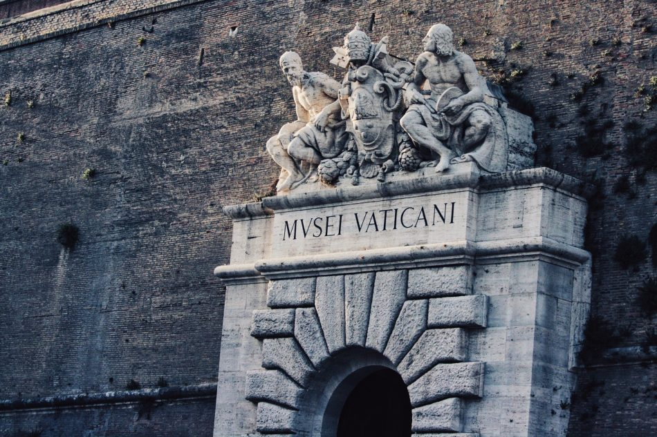 Entrance of the Vatican Museums