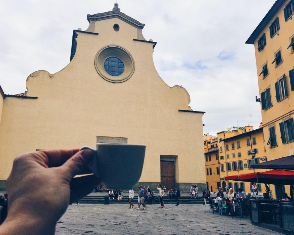 Coffee in Santo Spirito
