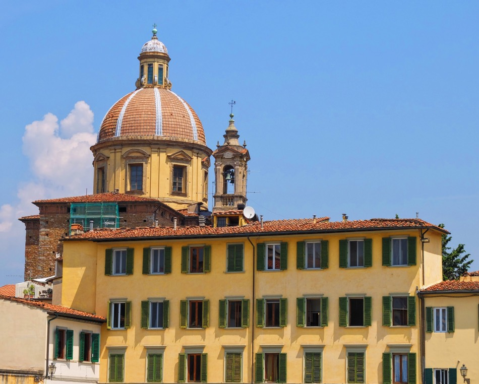 The Cupola of San Frediano Church