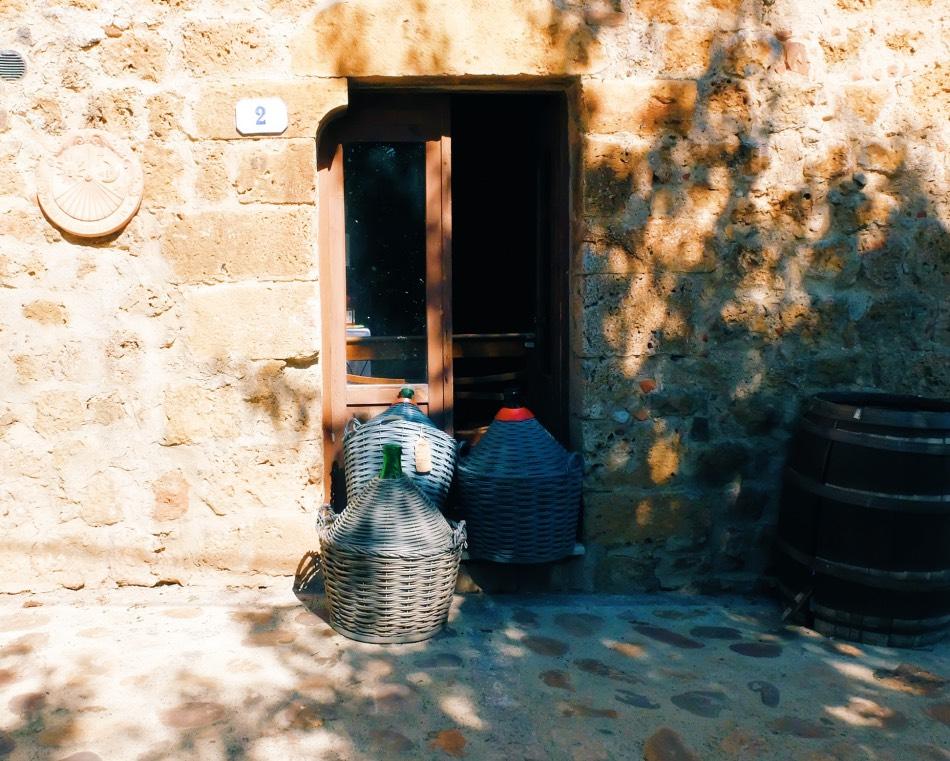 Biking in Tuscany - Monteirggioni