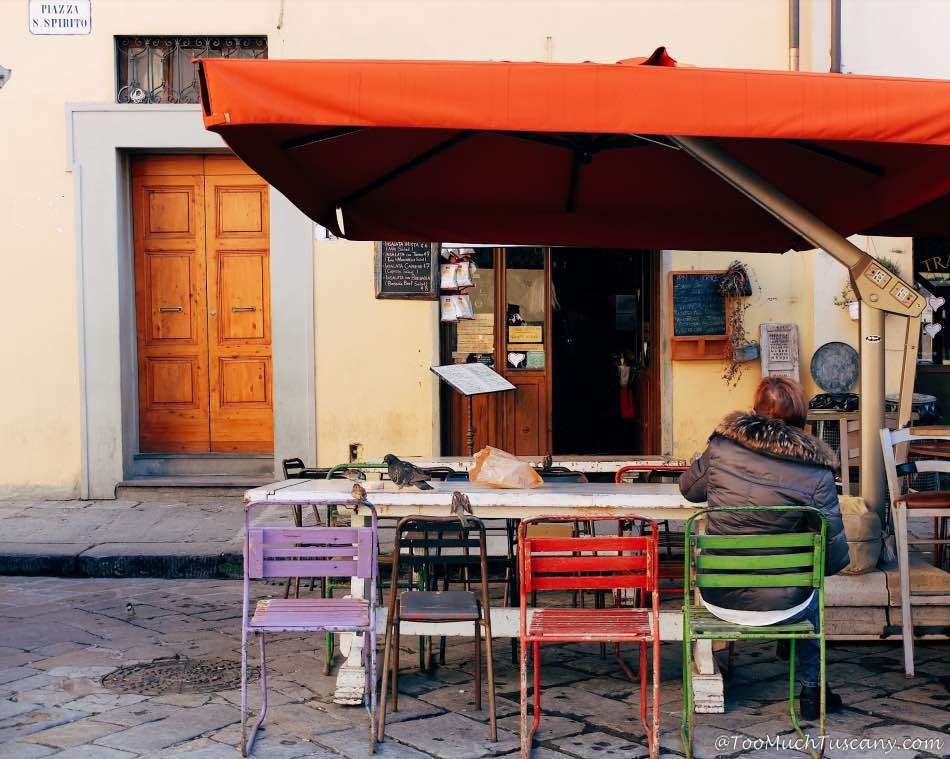 Lunch in Santo Spirito