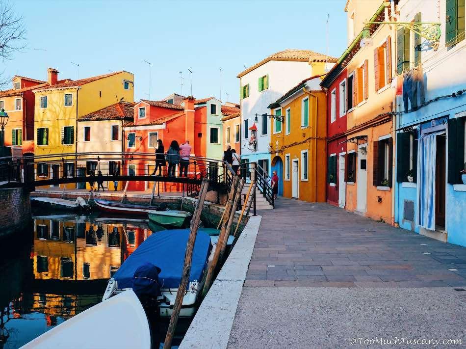 Burano, the island of colors near Venice