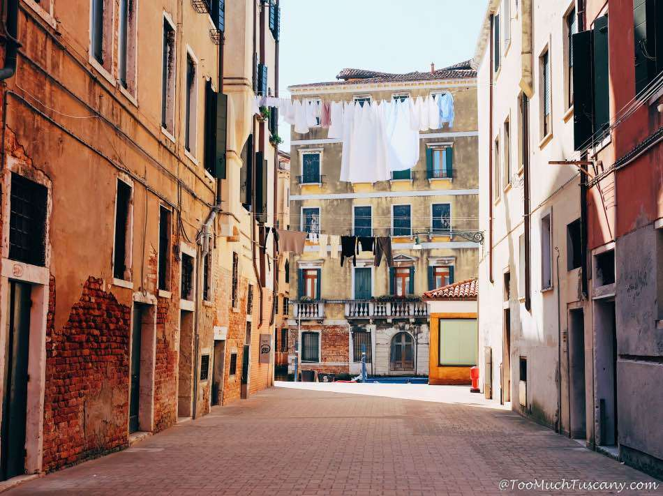 Venice Jewish Ghetto from the other side