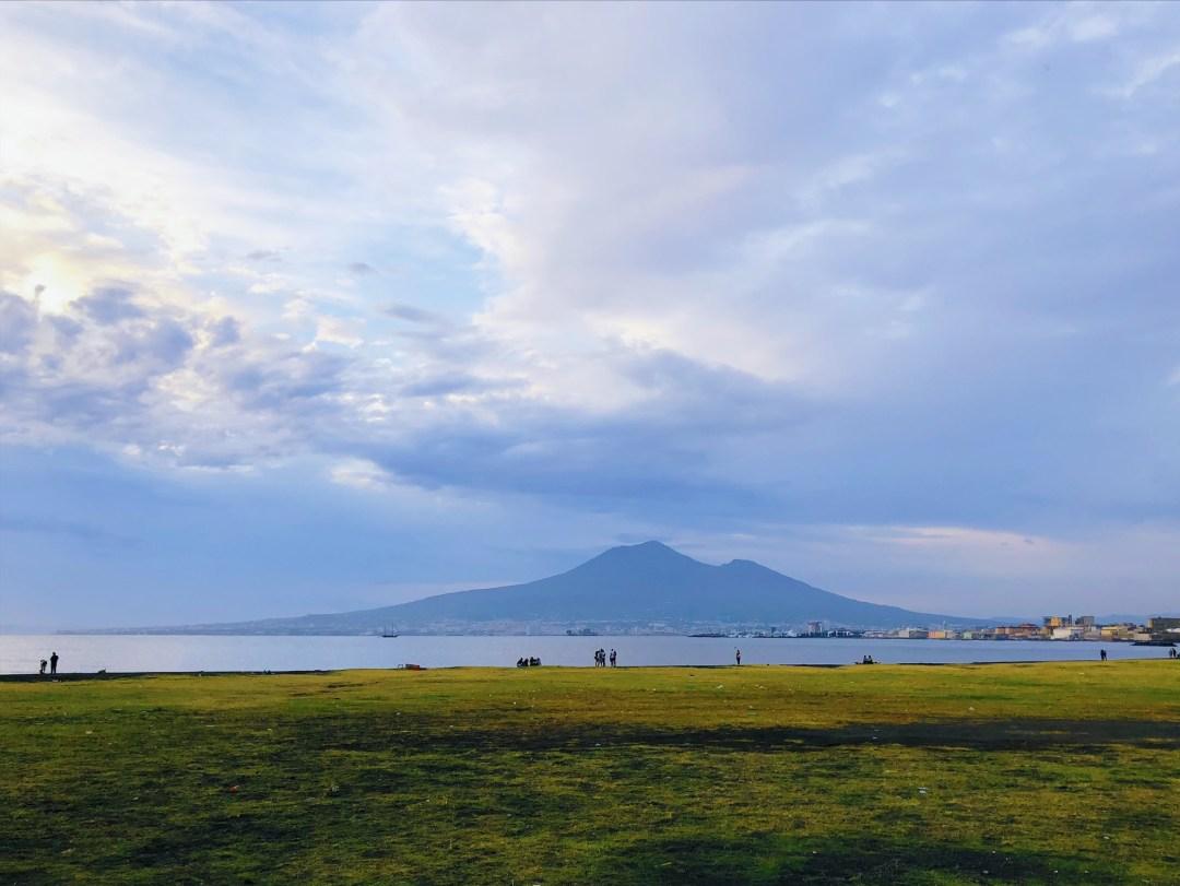 Mount Vesuvio from Castellamare