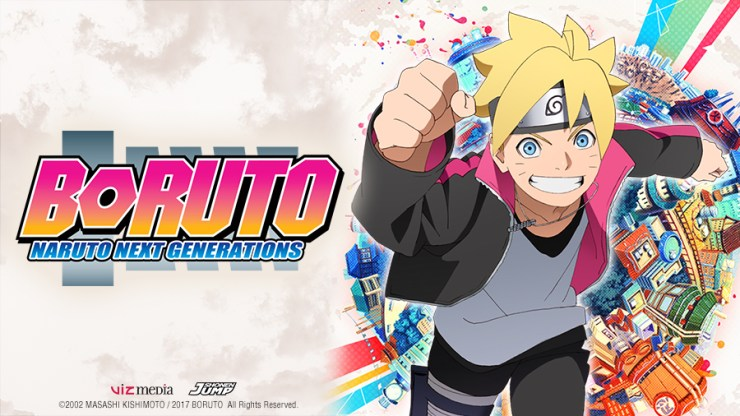 Press Release: VIZ Media Acquires Rights for BORUTO: NARUTO
