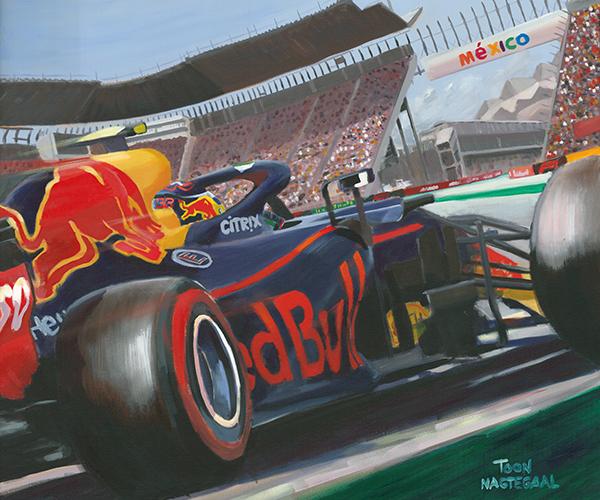 Max Verstappen wint de GP van Mexico 2018